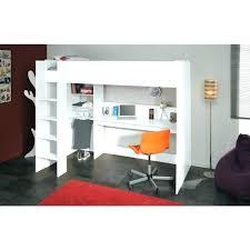 lit surélevé avec bureau lit hauteur avec bureau lit mezzanine bureau lit hauteur bureau lit