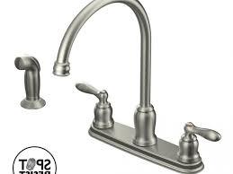 moen caldwell kitchen faucet faucet shop moen caldwell spot resist stainless handle high