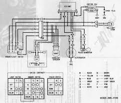 honda xl600r wiring diagram honda wiring diagrams instruction