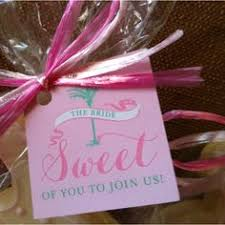 bridal luncheon favors bridesmaids luncheon favors custom favor tags doubled as place