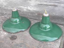 Pendant Barn Lights Old Green Enamel Pendant Lights Industrial Work Shop Barn Lighting