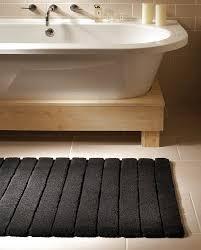 Bamboo Bathroom Rug Lined Bamboo Bath Mat 85 Apt Ideas Pinterest Bath Family