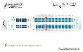 757 seat map boeing 757 200