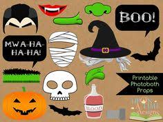 Halloween Photo Booth Props Halloween Photo Booth Props Set 37 Piece Printable Witch