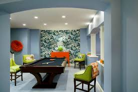 Pool Table In Dining Room by Basement Pool Table Design Ideas
