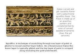 brief history of renaissance frames