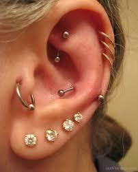 ear piercing hoop ear piercing ideas mybodiart