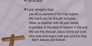 thanksgiving prayers holy communion thanksgiving blessings
