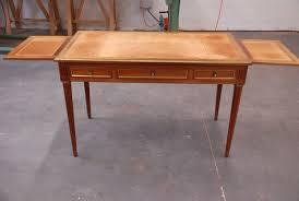 bureau style louis xvi restauration d un bureau plat louis xvi atelier pourquoi pas