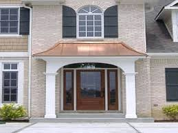Awning For Back Door Back Door Awning Ideas Image Of Photos Of The Copper Awnings