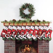 Walmart Christmas Tree Decorations Personalized Snow Cap Christmas Stocking Available In 11 Designs
