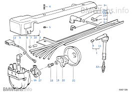 ignition wiring sparkplug bmw 5 u0027 e34 m5 3 6 s38 europe