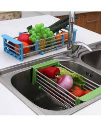 over the sink dish drying rack steel adjustable over sink dish drying rack