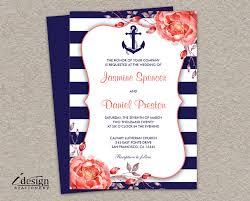 nautical themed wedding invitations anchor themed wedding invitations nautical wedding invitation