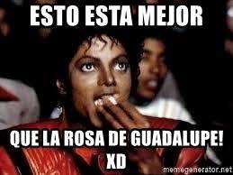 Rosa De Guadalupe Meme - esto esta mejor que la rosa de guadalupe xd michael jackson