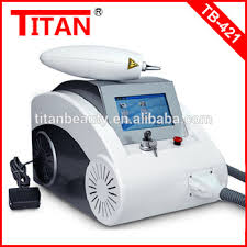 portable q switched nd yag laser permanent makeup remover machine
