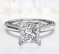 platinum princess cut engagement rings princess cut engagement rings ritani
