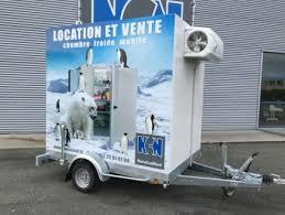 location chambre frigorifique location remorque avec chambre froide 220v pour courte durée