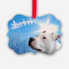 pit bull ornament cafepress