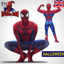 spiderman suit fancy dress ebay