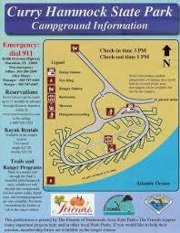 Map Of Marathon Florida by Campground Map Curry Hammock State Park Marathon Florida