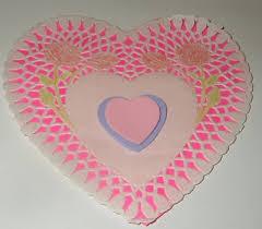 heart doily doily heart decoration thriftyfun