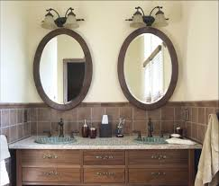 Oil Rubbed Bronze Bathroom Mirror by Oval Bathroom Mirrors Oil Rubbed Bronze Doherty House