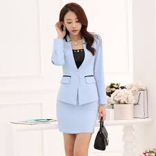 styles of work suites new style fashion ladies skirt suits blazer sets women work suits