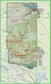 Tos Map Camping Checklist U2013 Baxter State Park