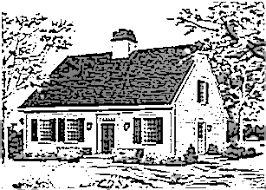 cape cod house plans 1950s postwar housing styles cape cod colonial and ranch homeowner