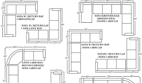 Sectional Sofas Dimensions Beautiful Sectional Sofa Dimensions 2 Enlarge View Print Our