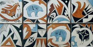 southwestern designs mata ortiz southwest pueblo pottery tiles glass