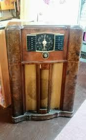 vintage radio zenith console floor standing cabinet radio 30 u0027s