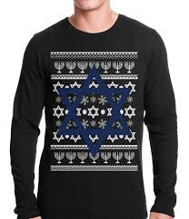hanukkah sweater hanukkah sweater thermal shirt