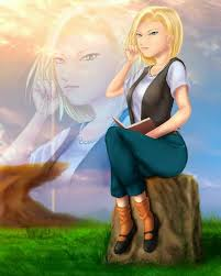 android 18 and cell z cell saga fan android 18 android 18