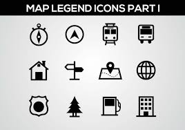 Google Maps Icon Free Map Legend Part I Vector Download Free Vector Art Stock
