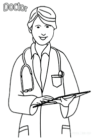 doctor coloring pages pdf colouring annual cover dr