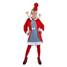 Cindy Loo Hoo Halloween Costumes Amazon Cindy Loo Costume Size Standard Clothing