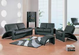 living room awesome black microfiber living room sets with white