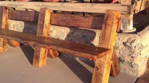 arizona ranch furniture how we buid it rustic cantilevered live