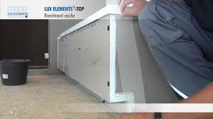 montaggio vasca da bagno montaggio elements rivestimento top tr per vasche