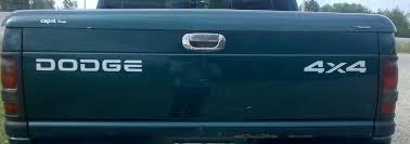Dodge Dakota Truck Bed Cap - product dodge ram dakota off road tailgate 2500 1500 decals stickers1