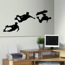 items in bespoke graphics shop on ebay large skateboard skate bedroom wall mural art sticker transfer decal stencil