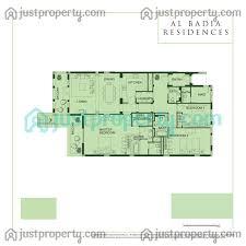 Floor Plan Survey Al Badia Phase 1 U0026 2 Floor Plans Justproperty Com