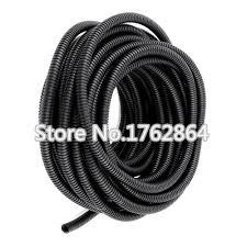 5m Lot PE Plastic Corrugated Pipe AD10 fiber optic cable to protect