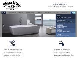 bathroom design center three way bath design center plumbing bayside ny