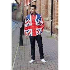 Flag Clothing Union Jack Long Sleeved Shirt