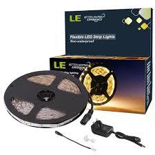 le better lighting experience 12v led tape light kit 300 3528 warm white strip 5m 16 4ft le