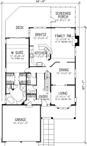 Home Design Story Level Up Craftsman Country 1 1 2 Story House Plans Home Design Ls 97002