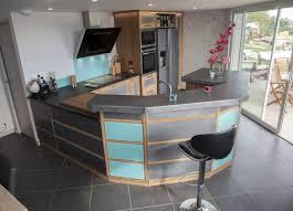comptoir de cuisine sur mesure cuisine ouverte avec comptoir collection avec fabrication de